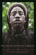 Cover-Bild zu Murray, Stephen O. (Hrsg.): Boy-Wives and Female Husbands (eBook)