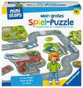 Cover-Bild zu Ravensburger ministeps 04192 Mein großes Spiel-Puzzle: In der Stadt, Bodenpuzzle mit vielen kreativen Spielmöglichkeiten, Spielzeug ab 18 Monate