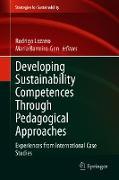 Cover-Bild zu Lozano, Rodrigo (Hrsg.): Developing Sustainability Competences Through Pedagogical Approaches (eBook)