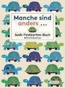 Cover-Bild zu Teckentrup, Britta: Manche sind anders... Postkarten-Buch