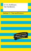 Cover-Bild zu Hoffmann, E.T.A.: Der Sandmann. Textausgabe mit Kommentar und Materialien