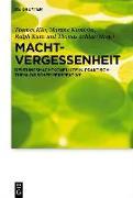 Cover-Bild zu Klie, Thomas (Hrsg.): Machtvergessenheit