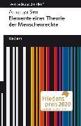 Cover-Bild zu Sen, Amartya: Elemente einer Theorie der Menschenrechte (eBook)