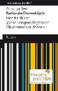 Cover-Bild zu Sen, Amartya: Rationale Dummköpfe. Eine Kritik der Verhaltensgrundlagen der Ökonomischen Theorie (eBook)