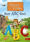 Cover-Bild zu Nordqvist, Sven: Pettersson und Findus: Mein ABC-Block