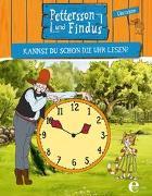 Cover-Bild zu Nordqvist, Sven: Pettersson und Findus: Kannst du schon die Uhr lesen?