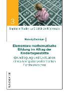 Cover-Bild zu Gasteiger, Hedwig: Elementare mathematische Bildung im Alltag der Kindertagesstätte