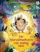 Cover-Bild zu Ein Warzenschwein will mutig sein von Dietl, Erhard