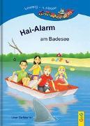 Cover-Bild zu LESEZUG/4. Klasse: Hai-Alarm am Badesee von Gallauner, Lisa