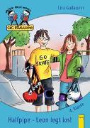 Cover-Bild zu Halfpipe - Leon legt los von Gallauner, Lisa