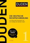 Cover-Bild zu Dudenredaktion (Hrsg.): Duden - Die deutsche Rechtschreibung