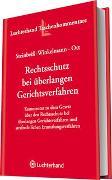 Cover-Bild zu Gesetz über Rechtsschutz bei überlangen Gerichtsverfahren von Steinbeiß-Winkelmann, Christine