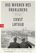 Cover-Bild zu Lothar, Ernst: Das Wunder des Überlebens: Erinnerungen