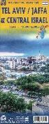 Cover-Bild zu Tel Aviv / Central Israel 1:12 000. 1:12'000