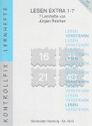 Cover-Bild zu Reichen, Jürgen: Lesen Extra 1-7. Kontrollfix-Serie 1