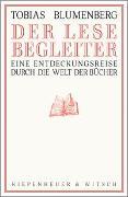 Cover-Bild zu Der Lesebegleiter von Blumenberg, Tobias