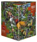 Cover-Bild zu Oesterle, Uli: Gulliver Puzzle