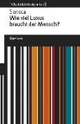 Cover-Bild zu Seneca: Wie viel Luxus braucht der Mensch?