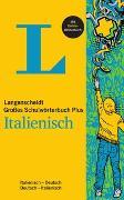 Cover-Bild zu Langenscheidt Großes Schulwörterbuch Plus Italienisch