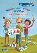 Cover-Bild zu Rudel, Imke: LESEMAUS zum Lesenlernen Sammelbände: Silben-Geschichten für Jungs zum Lesenlernen