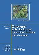 Cover-Bild zu Jakobs, Günther: Coacciones : explicación de la raíz común a todos los delitos contra la persona (eBook)
