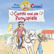 Cover-Bild zu Boehme, Julia: Conni und die Ponyspiele (Audio Download)