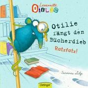 Cover-Bild zu Otilie fängt den Bücherdieb von Lütje, Susanne