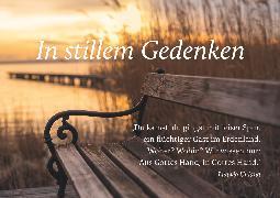 Cover-Bild zu Brunnen Faltkarte In stillem Gedenken