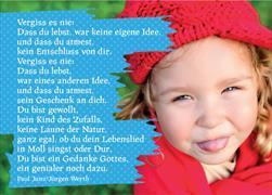 Cover-Bild zu Vergiss es nie: Dass du lebst, war keine eigene Idee und dass du atmest ... Paul Janz/Jürgen Werth