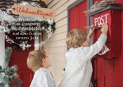 Cover-Bild zu Weihnachtspost - Ein frohes und gesegnetes Weihnachtsfest und alles Gute im neuen Jahr