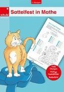 Cover-Bild zu Woicke, Melanie (Illustr.): Sattelfest in Mathe, 2. Schuljahr