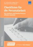 Cover-Bild zu Checklisten für die Personalarbeit von Koller, Gerhard