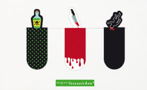 Cover-Bild zu Magnetlesezeichen Krimi