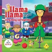 Cover-Bild zu Llama Llama Very Busy Springtime (eBook) von Dewdney, Anna