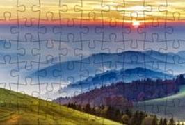 Cover-Bild zu Puzzle-Postkarte Schwarzwald 2 von Gmeiner-Verlag (Hrsg.)