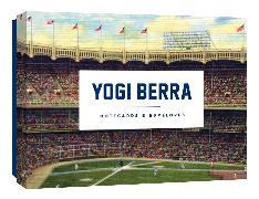 Cover-Bild zu Yogi Berra Notecards von Princeton Architectural Press (Geschaffen)