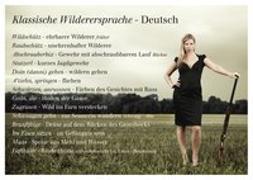Cover-Bild zu Klassische Wilderersprache - Deutsch von Girtler, Roland