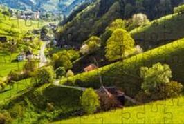 Cover-Bild zu Puzzle-Postkarte Schwarzwald 1 von Gmeiner-Verlag (Hrsg.)