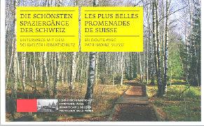 Cover-Bild zu Die schönsten Spaziergänge der Schweiz / Les plus belles Promenades de Suisse von Guetg, Marco