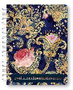 Cover-Bild zu Glamour Planner Paisley 2022- Diary - Buchkalender - Taschenkalender - 16,5x21,6