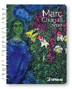 Cover-Bild zu Marc Chagall 2022 - Diary - Buchkalender - Taschenkalender - Kunstkalender - 16,5x21,6
