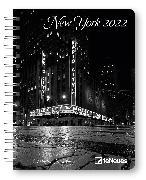 Cover-Bild zu New York 2022 - Diary - Buchkalender - Taschenkalender - 16,5x21,6
