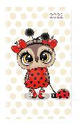 Cover-Bild zu Ladytimer Slim Ladybug 2022 - Taschen-Kalender 9x15,6 cm - Marienkäfer - Weekly - 128 Seiten - Notiz-Buch - Alpha Edition
