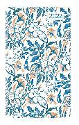 Cover-Bild zu Ladytimer Slim Blue Flowers 2022 - Taschen-Kalender 9x15,6 cm - Blumen - Weekly - 128 Seiten - Notiz-Buch - Alpha Edition