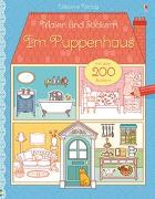 Cover-Bild zu Wheatley, Abigail: Malen und Stickern: Im Puppenhaus