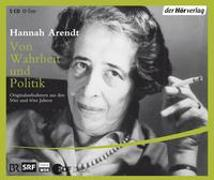 Cover-Bild zu Arendt, Hannah: Von Wahrheit und Politik
