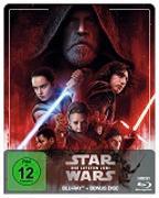 Cover-Bild zu Star Wars: Episode VIII - Die letzten Jedi Steelbook Edition von Johnson, Rian (Reg.)