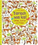 Cover-Bild zu Tierisch was los! von Robson, Kirsteen