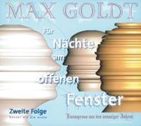 Cover-Bild zu Teil 2: Für Nächte am offenen Fenster - Folge zwei - Für Nächte am offenen Fenster von Goldt, Max