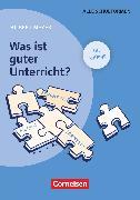 Cover-Bild zu Praxisbuch Meyer, Was ist guter Unterricht? (15. Auflage), Buch (kartoniert), Mit didaktischer Landkarte
